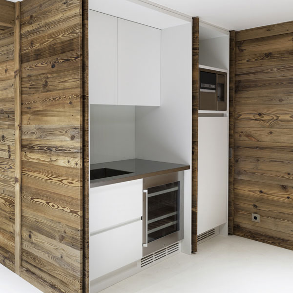 Recessed Kitchen