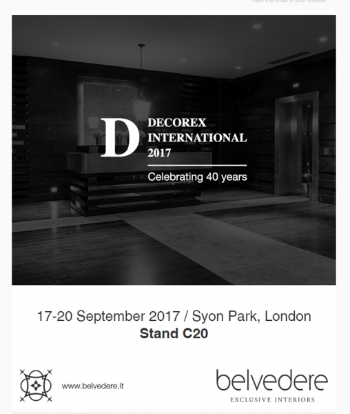 Decorex International 2017